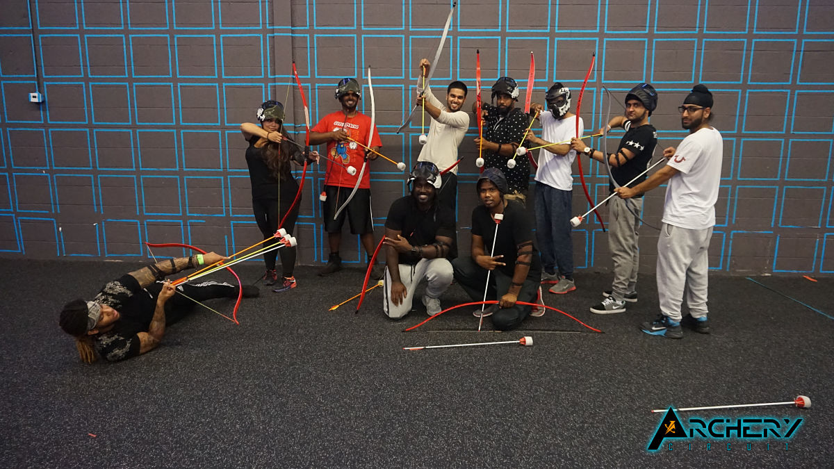 Archery circuit groupon